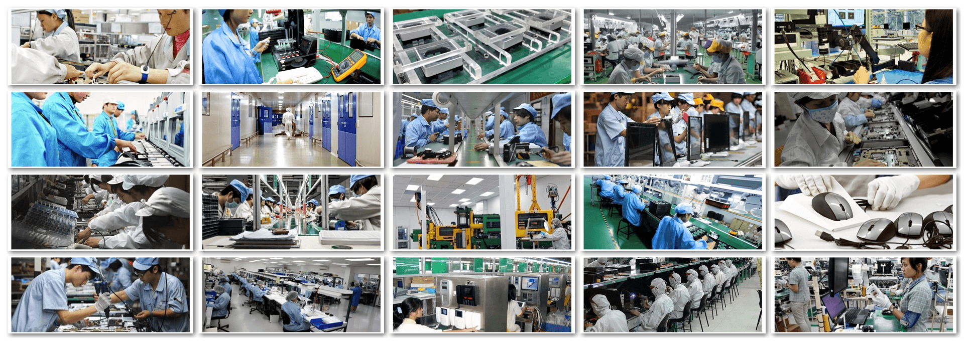FINAL ASSEMBLY & MASS MANUFACTURING LINES
